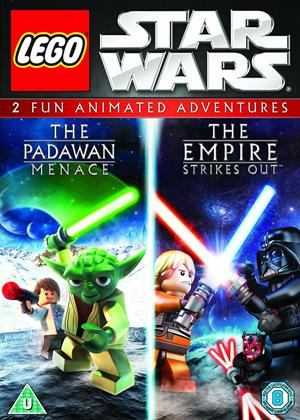 Rent Lego Star Wars: The Padawan Menace/The Empire Strikes Out Online DVD Rental