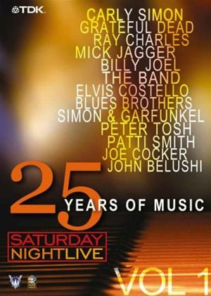Rent Saturday Night Live: 25 Years of Music: Vol.1 Online DVD Rental