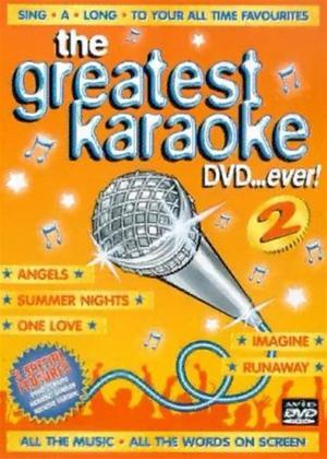 Rent The Greatest Karaoke DVD... Ever! 2 Online DVD Rental