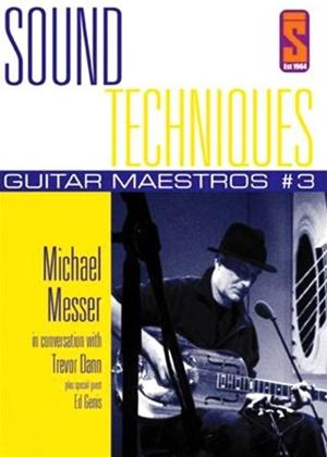 Rent Sound Techniques: Guitar Maestros Series 1: Michael Messer Online DVD Rental