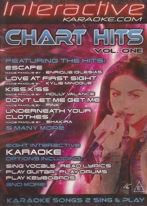 Rent Interactive Karaoke: Chart Hits: Vol.1 Online DVD Rental