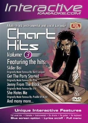 Rent Interactive Karaoke: Chart Hits: Vol.3 Online DVD Rental