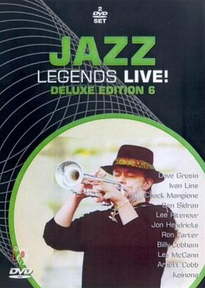 Rent Jazz Legends Live!: Deluxe Edition 6 Online DVD Rental