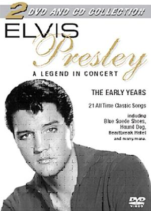Rent Elvis Presley: Legend in Concert Online DVD Rental