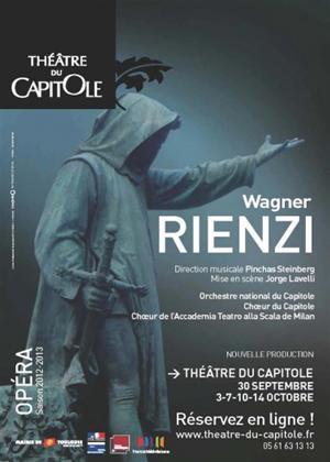 Rent Rienzi: Théâtre Du Capitole (Steinberg) Online DVD Rental