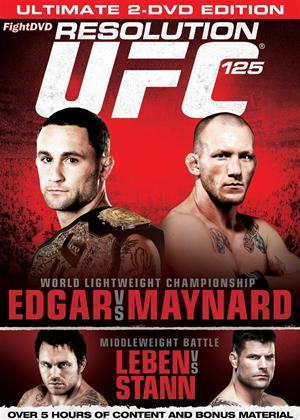 Rent Ultimate Fighting Championship: 125: Resolution Online DVD Rental
