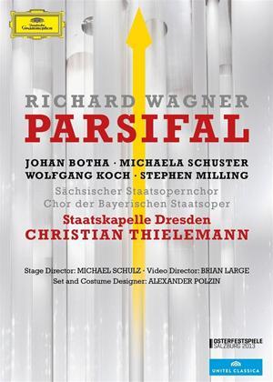 Rent Parsifal: Staatskapelle Dresden (Christian Thielemann) Online DVD Rental