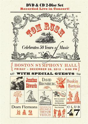 Rent Tom Rush Celebrates 50 Years of Music Online DVD Rental