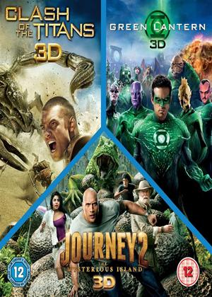 Rent Clash of the Titans/Journey 2/Green Lantern Online DVD Rental