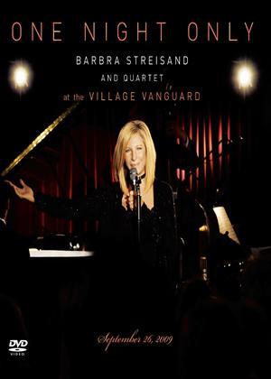 Rent Barbra Streisand: One Night Only (aka One Night Only: Barbra Streisand and Quartet at the Village Vanguard) Online DVD Rental