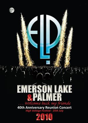 Rent Emerson, Lake and Palmer: 40th Anniversary Reunion Concert Online DVD Rental