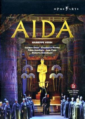 Rent Aida: Gran Teatre Del Liceu (Martinez) Online DVD Rental