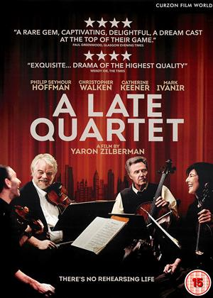 A Late Quartet Online DVD Rental
