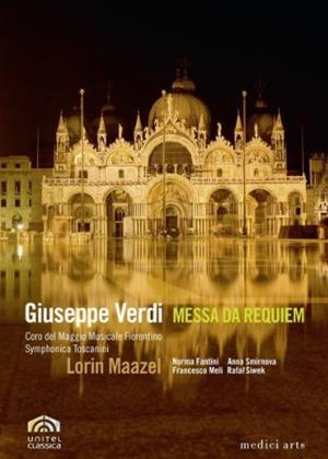 Rent Messa Da Requiem: Basilica Di San Marco, Venice (Maazel) Online DVD Rental