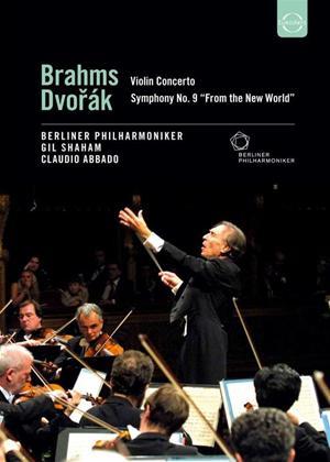 Rent Brahms / Dvorak: Violin Concerto / Symphony No.9 Online DVD Rental