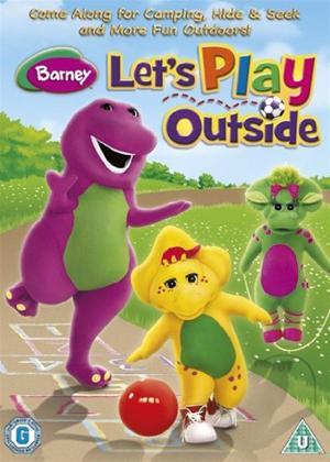 Rent Barney: Let's Play Outside Online DVD Rental
