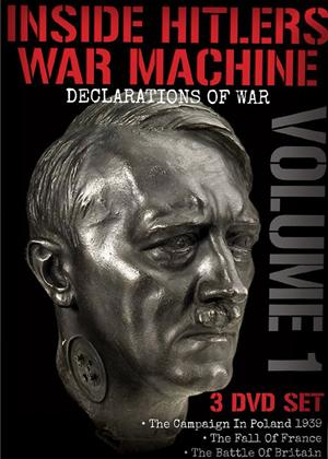 Rent Inside Hitler's War Machine: Declarations of War: Vol.1 Online DVD Rental