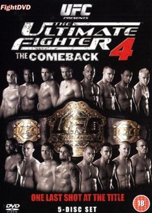 Rent UFC: The Ultimate Fighter: Series 4 Online DVD Rental