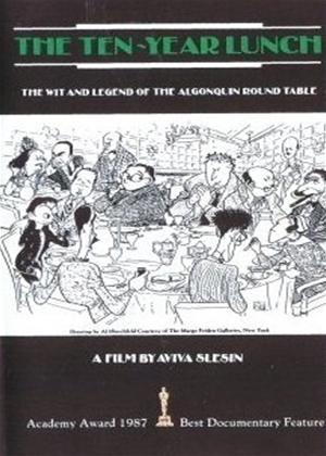 Rent The Ten-Year Lunch: The Wit and Legend of the Algonquin Round Table Online DVD Rental