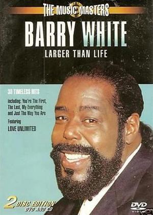 Rent Barry White: Music Masters Online DVD Rental