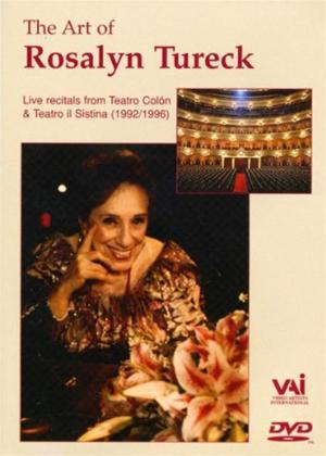 Rent Rosalyn Tureck: The Art of Rosalyn Tureck Online DVD Rental