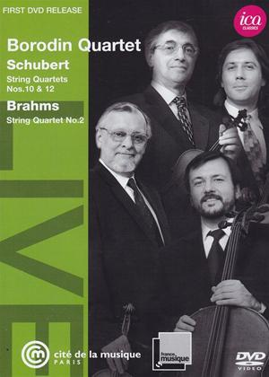 Rent Borodin Quartet: Schubert / Brahms Online DVD Rental