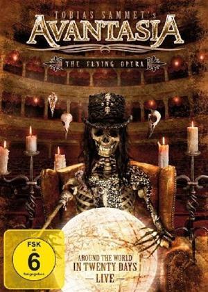 Rent Avantasia: The Flying Opera: Around The World in 20 Days Online DVD Rental
