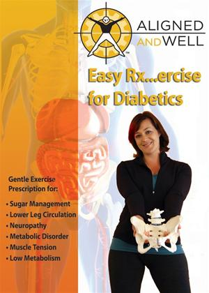 Rent Aligned and Well: Easy Exercise for Diabetics Online DVD Rental