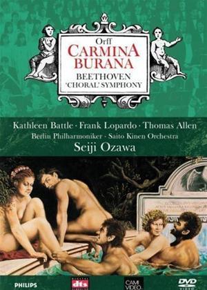 Rent Carl Orff: Carmina Burana / Beethoven: Symphony No. 9 Online DVD Rental