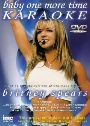 Rent Baby One More Time: Karaoke: Britney Spears Online DVD Rental