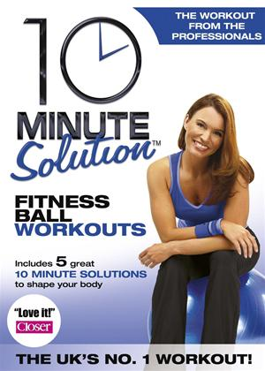 Rent 10 Minute Solution: Fitness Ball Workouts Online DVD & Blu-ray Rental