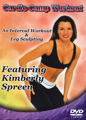 Rent Cardio Camp Workout with Kimberly Spreen Online DVD Rental