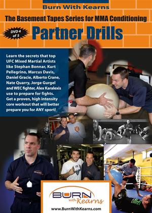 Rent Basement Tapes Series for MMA Conditioning: Partner Drills Online DVD Rental