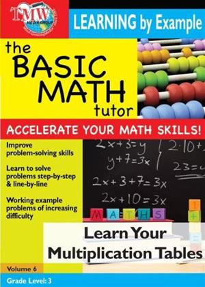 Rent The Basic Math Tutor: Learn Your Multiplication Tables Online DVD Rental