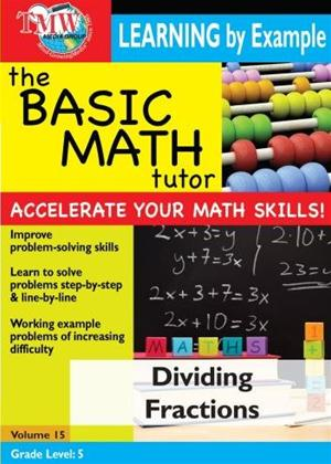 Rent The Basic Math Tutor: Dividing Fractions Online DVD Rental