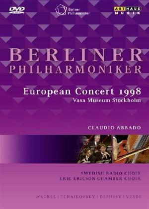 Rent Berliner Philharmoniker: European Concert 1998 Online DVD Rental