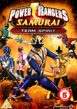 Rent Power Rangers Samurai: Vol.3: Team Spirit Online DVD Rental