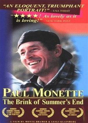 Rent Paul Monette: The Brink of Summer's End Online DVD Rental