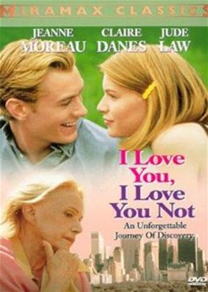 Rent I Love You, I Love You Not Online DVD Rental