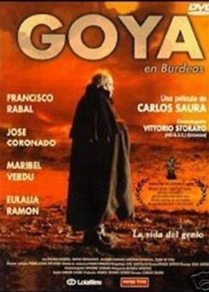 Rent Goya en Bordeaux (aka Goya en Burdeos) Online DVD & Blu-ray Rental