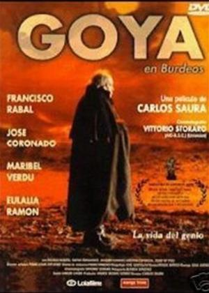 Rent Goya en Bordeaux (aka Goya en Burdeos) Online DVD Rental