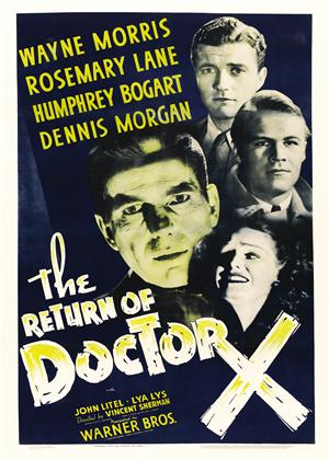 Rent The Return of Doctor X Online DVD Rental