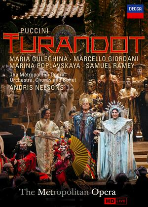 Rent Turandot: Metropolitan Opera (Nelsons) Online DVD Rental