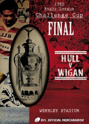 Rent Carnegie Challenge Cup Final: 1985: Wigan 28 Hull 24 Online DVD Rental
