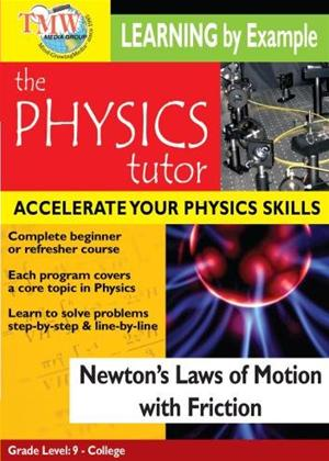 Rent Physics Tutor: Newton's Laws of Motion with Friction Online DVD Rental