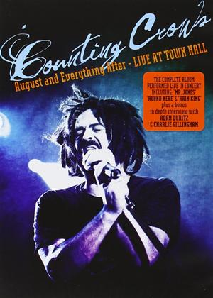 Rent Counting Crows: August and Everything After: Live from Town Hall Online DVD Rental