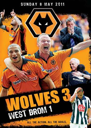 Rent Wolverhampton Wanderers: Wolves 3: West Brom 1 Online DVD Rental