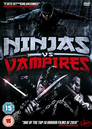 Rent Ninjas vs. Vampires Online DVD Rental