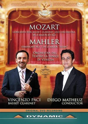 Rent Mozart/Mahler: Teatro La Fenice (Matheuz) Online DVD Rental