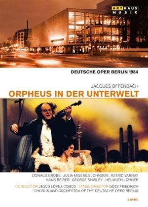 Rent Orpheus in Der Unterwelt: Deutsche Oper Berlin (Cobos) Online DVD Rental
